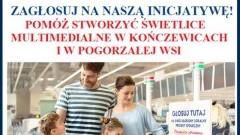 GOKIS Miłoradz ponownie powalczy o świetlice multimedialne. Tym razem dla Kończewic i Pogorzałej Wsi
