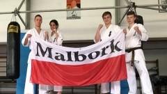 Malborscy karatecy na zgrupowaniu kadry w Zakopanem.