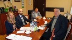 Spotkanie Wójta Gminy Stare Pole z przedstawicielami Pomorskiej Specjalnej Strefy Ekonomicznej