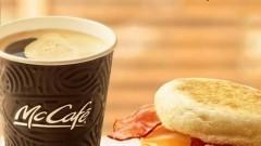 Ciepłe śniadanie w McDonald's. McMuffin Jajko i Bekon gratis do porannej kawy!
