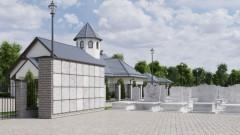 Nowy cmentarz komunalny w Nowym Stawie. Zobacz wizualizację.
