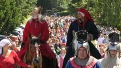 Tegoroczny korowód był naprawdę imponujący. XVI Międzynarodowy Festiwal Kultury Dawnej
