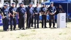 POLICJANT ROKU RUCHU DROGOWEGO : Malborski funkcjonariusz wyróżniony za osiągnięcie najlepszego wyniku w konkurencji strzeleckiej.