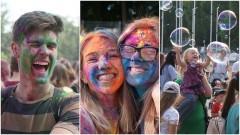 To było prawdziwe szaleństwo. Festiwal Kolorów i Baniek Mydlanych – zobacz wideo