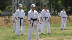 Klub karate uczcił 100- lecie odzyskania niepodległości przez Polskę.