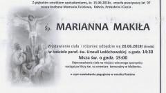 Zmarła Marianna Makiła. Żyła 97 lat.