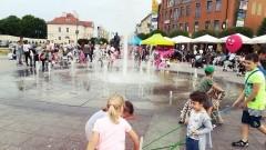 """""""Rodzinna sobota w centrum miasta"""". Gry i zabawy dla najmłodszych. Dni Malborka 2018 - dzień drugi"""