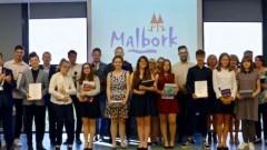 Nagrody dla laureatów i finalistów konkursów oraz najlepszych sportowców w Malborku