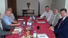 Malbork : Spotkanie Burmistrza Marka Charzewskiego z przedstawicielami firmy PEMAL S.A.
