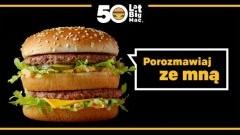 I Ty możesz zostać kultowym burgerem! McDonald's Polska świętuje pięćdziesięciolecie Big Maca® w digitalu