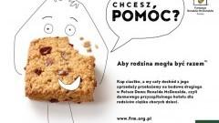 Aby rodzina mogła być razem! McDonald's® przeznaczy cały dochód ze sprzedaży ciastka owsianego na Fundację Ronalda McDonalda
