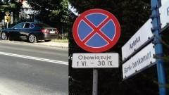 Turystom wolno więcej? Wakacyjny mistrz parkowania na ulicy Gdańskiej w Sztutowie
