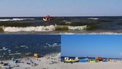 Kąty Rybackie. Na plaży zaginęła 6-letnia dziewczynka.