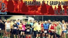 """Drugą edycja biegu i marszu nordic walking """"Parkowa 5"""". Klub Biegacza Grupa Malbork zaprasza."""