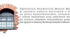 Ogłoszenie Burmistrza Miasta Malborka
