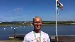 Kajakarz Malborskiego Klubu Sportowego Nogat Wicemistrzem Świata