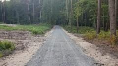 8 kilometrów ścieżki rowerowej od Kątów Rybackich do Przebrna prawie gotowe.