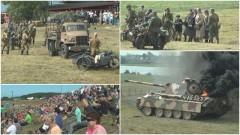 Piknik militarny w Mikoszewie. Świst kul, huk wybuchów, warkot silników wojskowego sprzętu i GOLDEN LIFE (wideo, zdjęcia)
