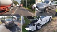 Poważny wypadek na DK 22 w Królewie. Jedna osoba trafiła do szpitala