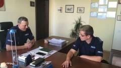 Malborscy policjanci spełnili marzenie 17-latka z zespołem Aspergera.
