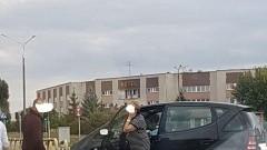 Straciła panowanie nad autem i uderzyła w barierę ochronną. 64-latka z Malborka ukarana mandatem karnym.