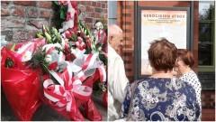 Dwie uroczystości jednego dnia - złożono kwiaty i odsłonięto tablicę pamiątkową