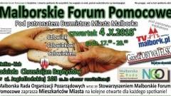 Integracja środowiskowa i wzajemna współpraca tematami Malborskiego Forum Pomocowego