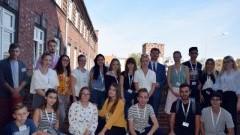 Przedstawiciele Jugendparlament w Malborku. Wymiana partnerska Młodzieżowych Rad Miasta.