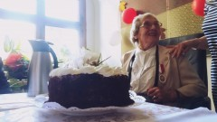 90 urodziny Reginy Krzos z Młodego Lasu w malborskim Ratuszu