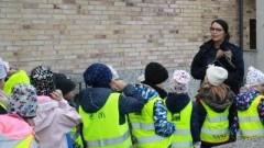 Mali goście w Komendzie Powiatowej Policji w Malborku