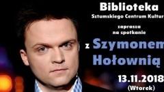 Szymon Hołownia w Sztumie. Zapraszamy na spotkanie autorskie.