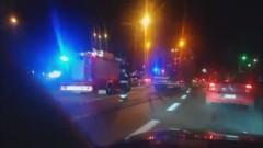 Niebezpieczny manewr zmiany pasa ruchu na Alei Rodła w Malborku - kierowca ukarany mandatem.