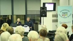 Malborscy policjanci rozmawiali z seniorami o bezpieczeństwie.
