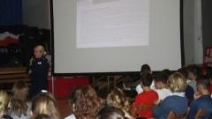 """""""Porozmawiajmy o bezpieczeństwie - Możesz mieć na nie wpływ""""- debata uczniami Szkoły Podstawowej nr 5 w Malborku."""