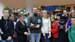 """Malborscy młodzi twórcy """"Młodzieżowego Bigosu"""" na spotkaniu z dziennikarzem Radia Gdańsk"""