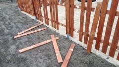 Malbork: Wandale zniszczyli jedną z Otwartych Stref Aktywności. Straty są poważne.