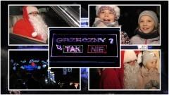 Mikołaj w Mercedesie i pokaz laserowy. Świąteczny czas w Malborku rozpoczęty.
