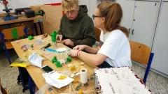 Wykładowcy z Politechniki Gdańskiej na zajęciach z malborskiej Szkole Podstawowej nr 5