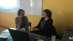 Malbork: Studentka z Uniwersytetu w Portsmouth odwiedziła uczniów II LO