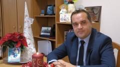 Marcin Kwiatkowski, Wójt Gminy Malbork składa życzenia świąteczno-noworoczne