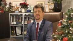 Marek Charzewski, Burmistrza Miasta Malborka składa życzenia świąteczno-noworoczne