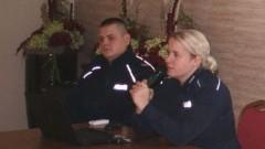 Malborscy policjanci o dopalaczach. Spotkanie z rodzicami uczniów ZSP nr 3.