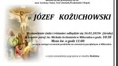 Zmarł Józef Kożuchowski. Żył 88 lat