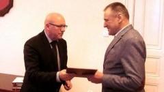 Nowy Komendant Społecznej Straży Rybackiej Powiatu Malborskiego.
