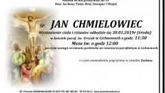 Zmarł Jan Chmielowiec. Żył 59 lat.