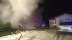 Koniecwałd: Pożar budynku gospodarczego. Ewakuacja 4 osób.