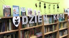 Tydzień Kota w bibliotece Szkoły Podstawowej w Starym Polu