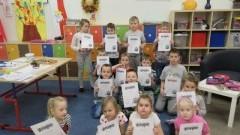 Kreatywna lekcja języka polskiego w Szkole Podstawowej nr 5 w Malborku.