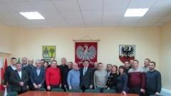 Gmina Stare Pole: Samorządowcy i pracownicy przedsiębiorstw komunalnych z Ukrainy odwiedzili Urząd Gminy