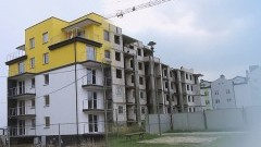 Zobacz jak powstawał XV budynek TBS w Malborku.